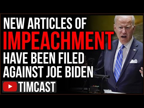 Articles Of Impeachment Filed Against Biden, GOP Reps Cite Democrat Violating Separation of Powers - Choice Clips
